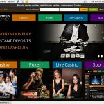 Anonymouscasino Joining Promo Code