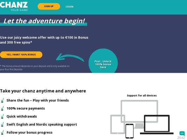 CHANZ Payment Methods