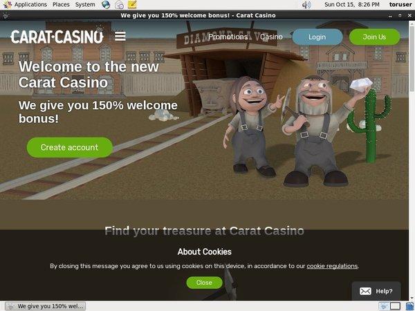 Caratcasino Make Account