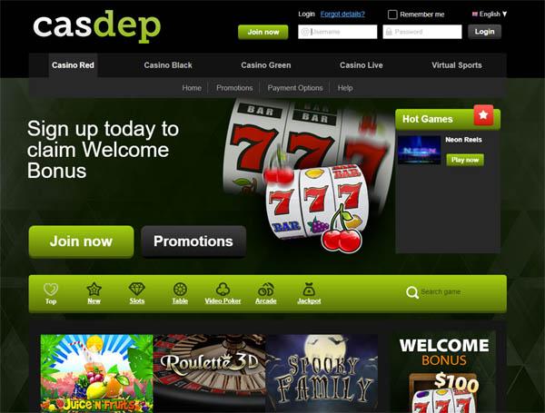 Casdep Freespins