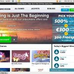 Casinoroom Sign Up Offer