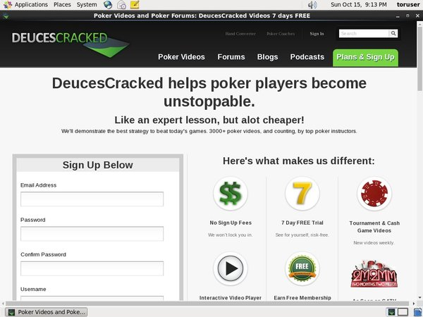 Deucescracked Deposit Methods