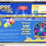 Empire Bingo Welcome Bonus