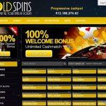 Gold Spins New Customer Bonus
