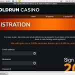 Goldruncasino Free Account