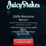 Juicy Stakes Vip Bonus