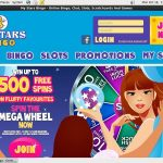 My Stars Bingo Payment Methods