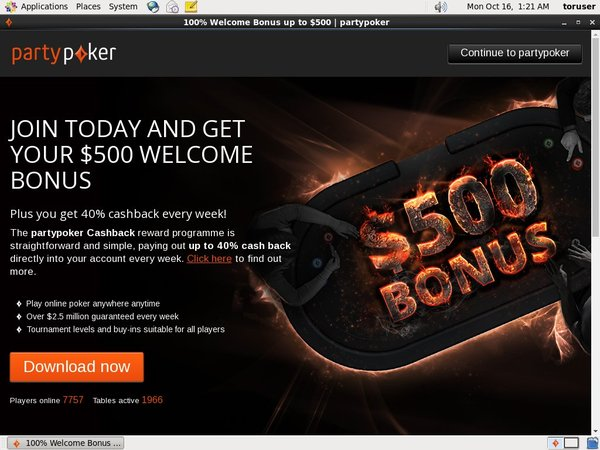 Party Poker Internet Casino
