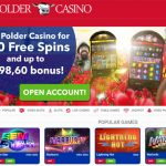 Polder Casino Match Bonus