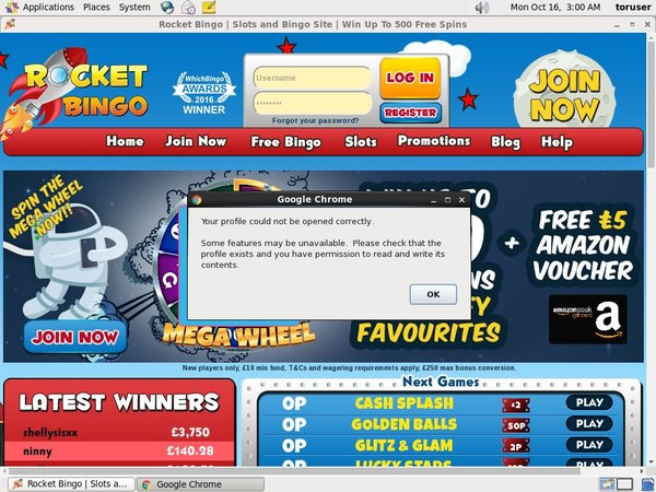 Rocketbingo Web Money