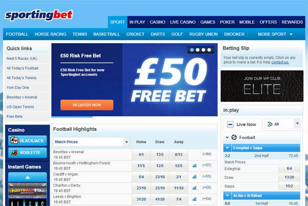 Sporting Bet Join Bonuses