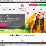 Tip Top Bingo App