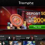 Triomphe Casino Online Casino Offers