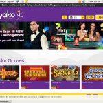 Yako Casino Euros No Deposit