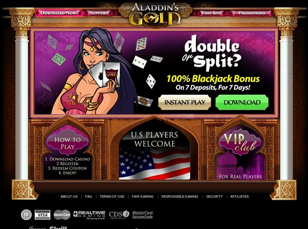 Aladdinsgoldcasino Minimum Bet