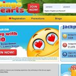 Bingo Hearts Deposit Play With