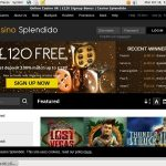 Casinosplendido Join Bonus