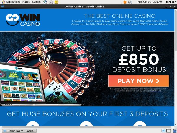 Go Win Casino Eu Debit