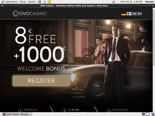 Ovo Casino Register