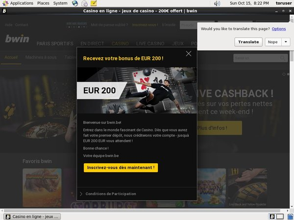 Bwin.be Casino 300 Bonus