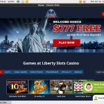 Welcome Offer Liberty Slots
