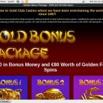 Goldclubcasino Bonus List