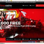 Sign Up Fone Casino