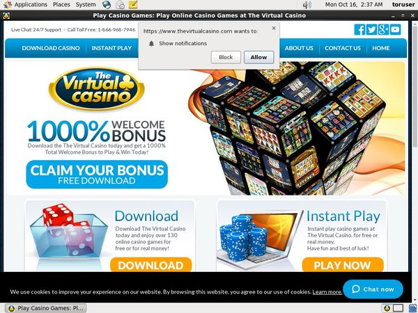 Virtual Casino New Player