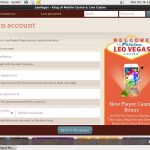 Live Leo Vegas Bonus