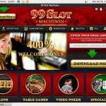 99 Slot Machines Bet Online