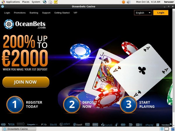 Ocean Bets Bonus Offer