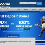 Welcome Bingo Joining Promo Code