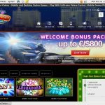 Dream Palace Casino Welcome Bonus Package