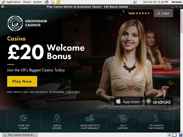 Grosvenorcasinos Bet Free
