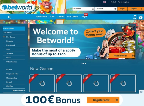 Betworld Welcome Package