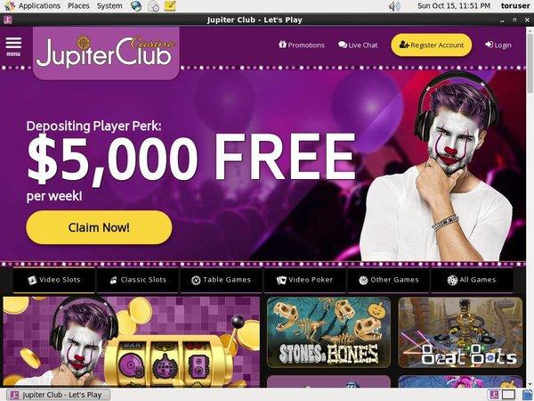 Jupiter Club Online Slots