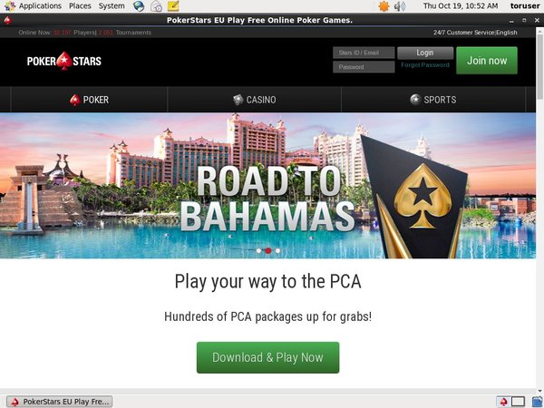 No Deposit Pokerstars