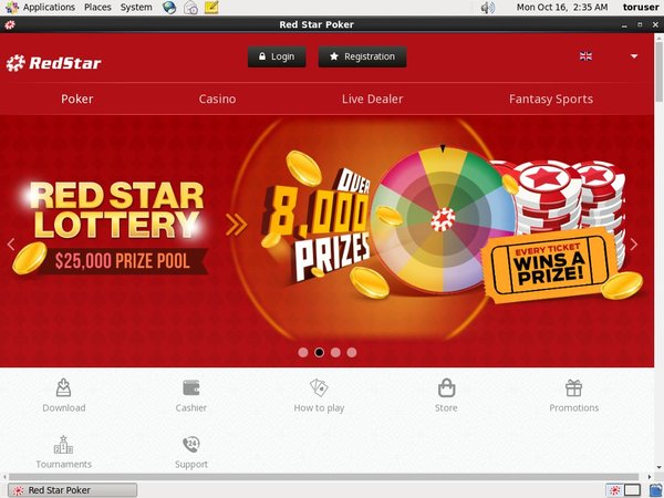 Red Star Poker Payment Methods