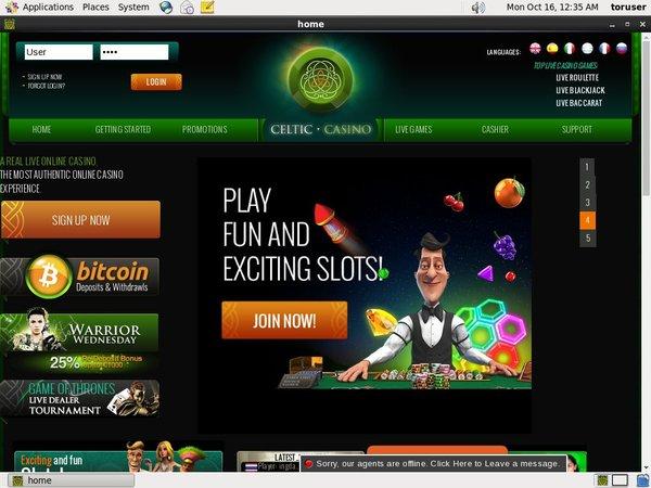 Celtic Casino Real Money