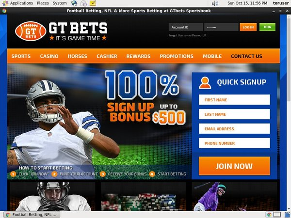GT Bets College Football Spins