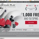 Platinumplay No Wagering