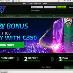 Sign Up Crazycasino