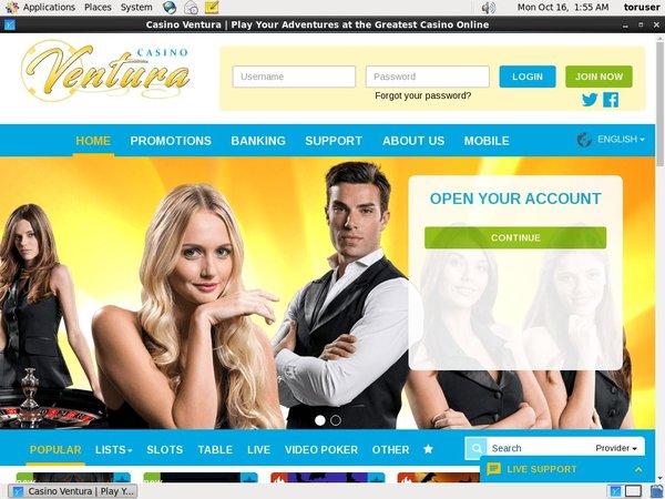 Bonus Bet Casino Ventura