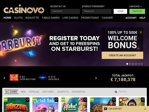 Casinovo Special Offers