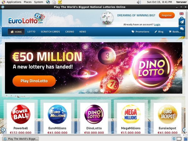 Get Euro Lotto Account