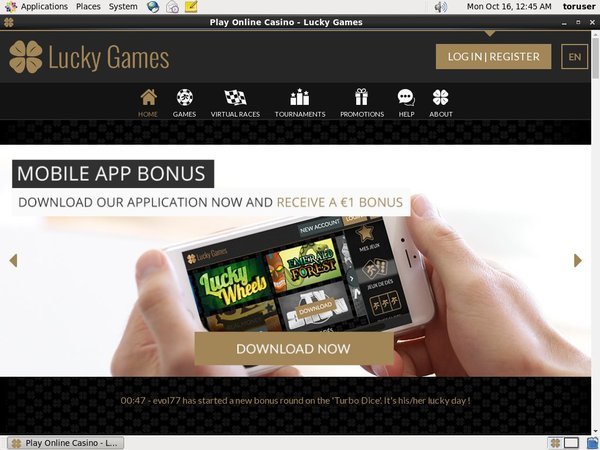 Luckygames Webmoney