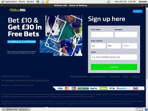 Williamhill Transfer
