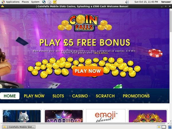 Coin Falls Casino Facebook