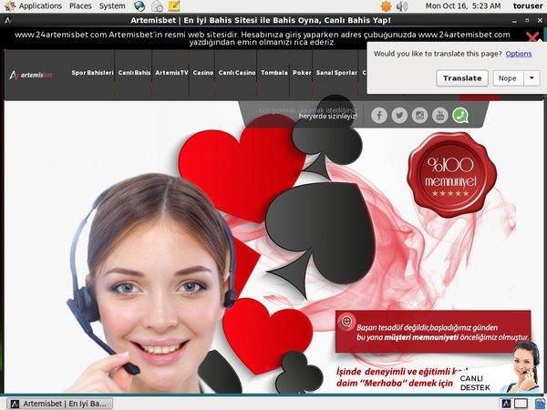 24artemisbet Mobil Casino Bonus
