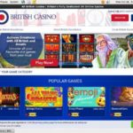 All British Casino Welcome Offer
